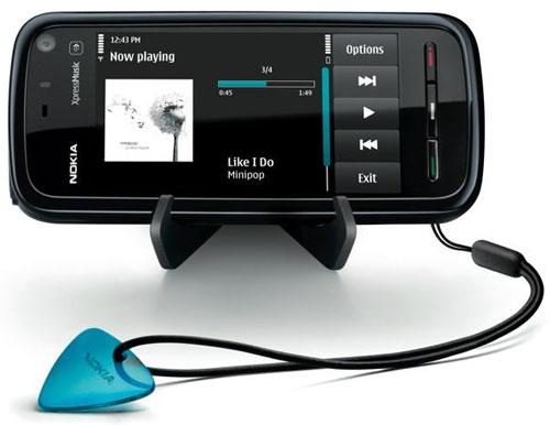 Прошивка для Nokia 5800 XpressMusic обновилась до версии 11.0.08
