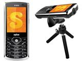 Spice Mobile M-9000 Popkorn — недорогой телефон с пикопроектором