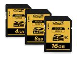 «Золота» серія високошвидкісних карт пам'яті від OCZ