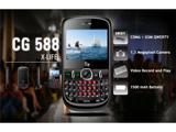 Двухрежимный QWERTY-телефон Fly CG588