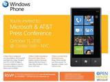 Релиз ОС Windows Phone 7 состоится 11 октября