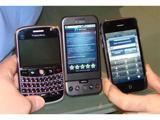 Живі фотографії комунікатора T-Mobile G1 і його недоліки