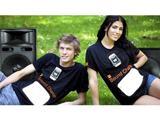 Футболка Orange Sound Charge заряжает мобильный телефон от окружающих звуков