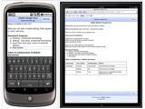 Сервис Google Docs теперь позволяет редактировать документы на Android и iOS-устройствах