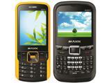 MAXX выпустила телефоны MX401 и MQ601 с функцией Active Noise Control