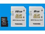 Емкие карты памяти от компании Toshiba