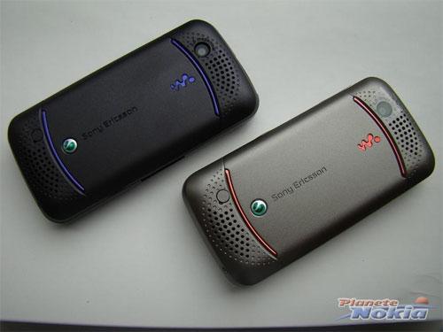 Фотографии мобильных телефонов Sony Ericsson W395 и Sony Ericsson C903.