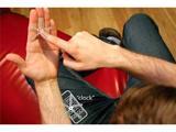 Ученые превратили руку в смартфон