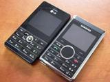 Сравнительный обзор телефонов Samsung P310 и LG KE820
