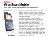 McAfee анонсував McAfee VirusScan Mobile