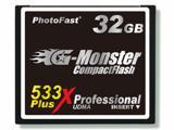 Чрезвычайно высокоскоростная карта памяти PhotoFast 533X PLUS! 32GB CF Card