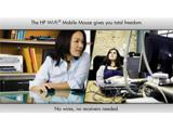 Мышь HP Wi-Fi Mobile Mouse способна работать через Wi-Fi