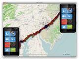 Microsoft собирает данные о местоположении WP7-смартфонов