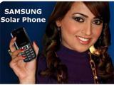 Телефон Samsung Solar Crest с солнечными батареями на борту