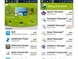 Sony Ericsson рекомендует приложения с помощью канала в онлайн-магазине Android Market