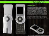 Концепт бамбукового телефона