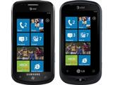 Смартфоны Samsung Focus и LG Quantum на базе ОС Windows Phone 7