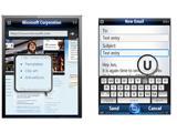 Зображення й подробиці про Windows Mobile 7