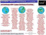 Организация GSA подсчитала количество HSPA-сетей в мире