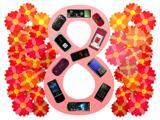 Мобильные подарки на 8-е марта
