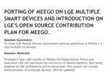 LG покажет прототипы устройств на базе ОС MeeGo